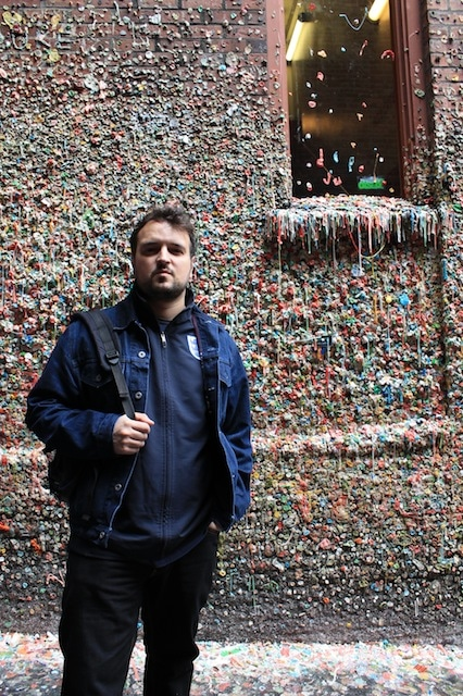 o que fazer em seattle - gum wall
