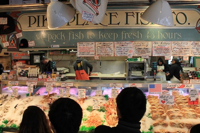 O que fazer em seattle Pike Place