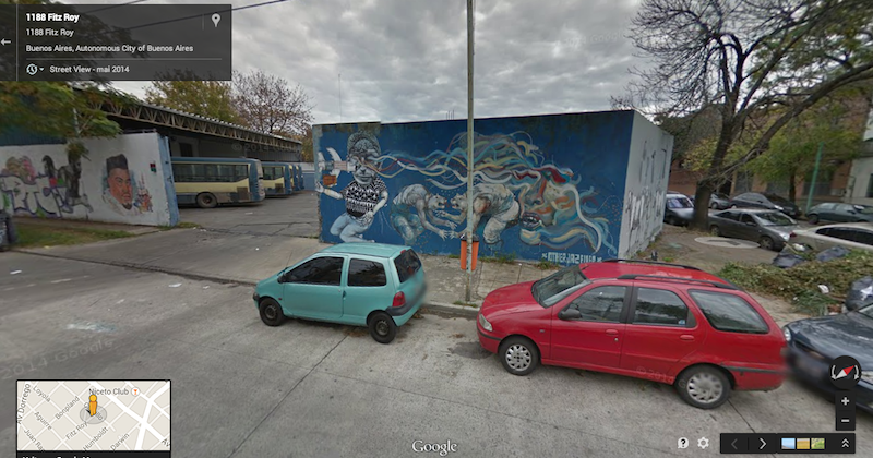 buenos aires google street view