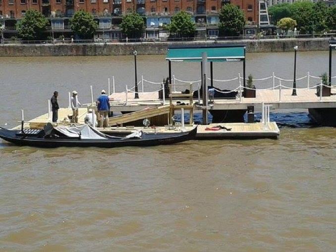 passeio de gondola puerto madero buenos aires