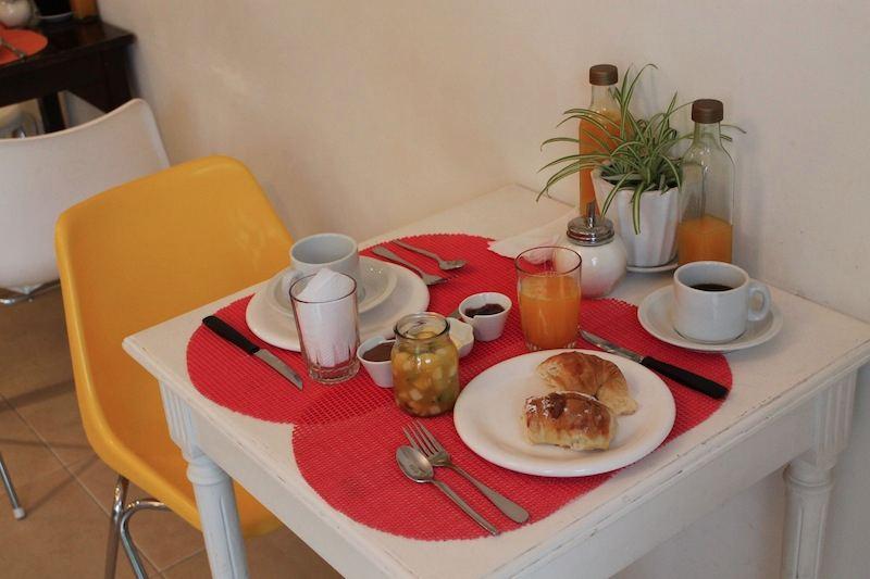 café da manhã querido hotel