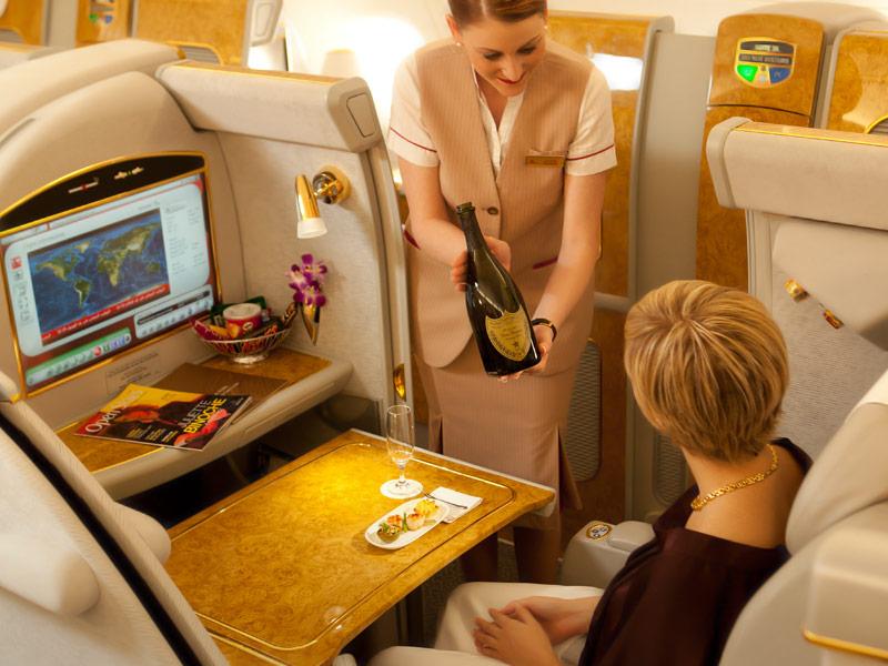Viajando de Emirates para Buenos Aires