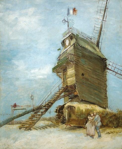 Le Moulin de la Galette, Vincent Van Gogh
