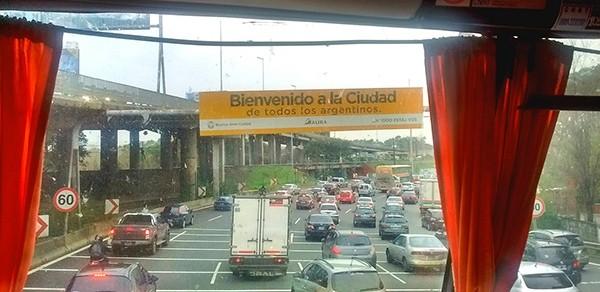 viagem de ônibus para Buenos Aires