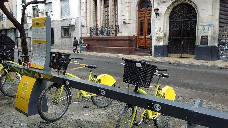 bicicleta em Buenos Aires
