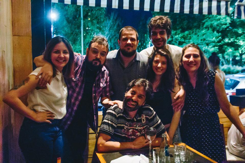 Equipe Aires Buenos comendo CARNE no fim do ano