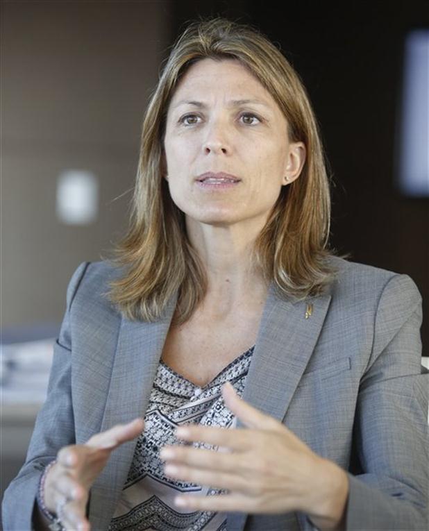 Isabela Constantini, presidenta da Aerolineas Argentinas. Foto: La Nación