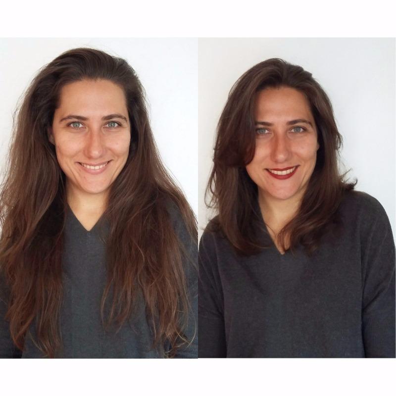 cortando cabelo