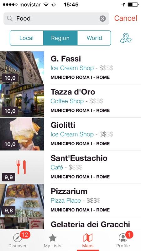 aplicativo de viagens