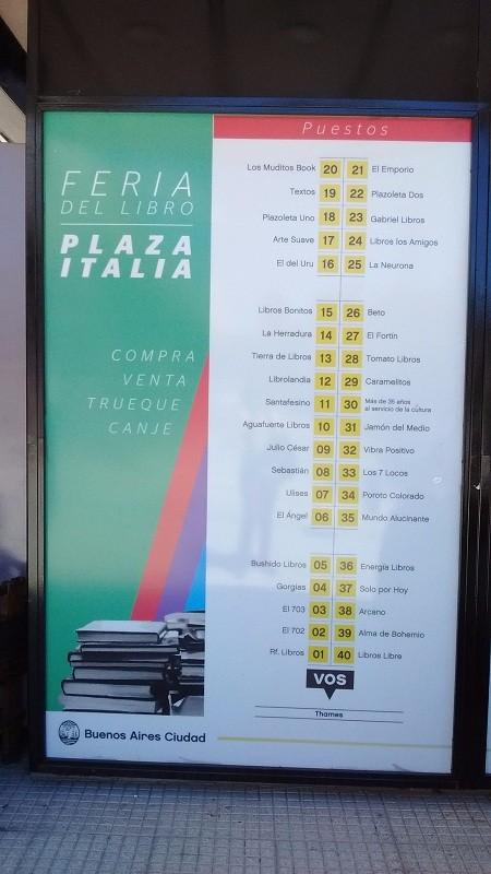 Feria Plaza Itália
