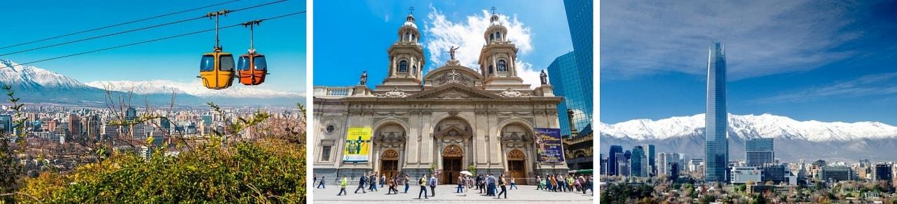 Passagens aéreas baratas para Santiago do Chile