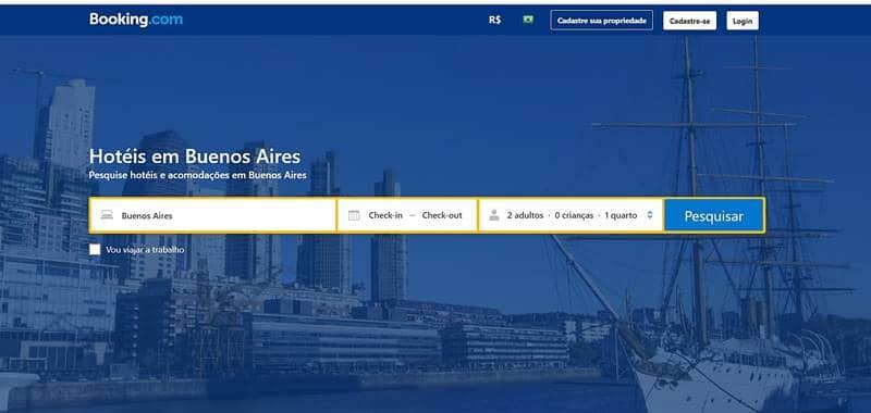 como escolher o hotel em Buenos Aires