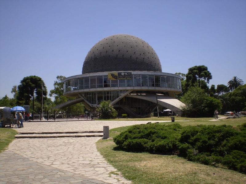 Planetário de Buenos Aires nos Parques de Palermo