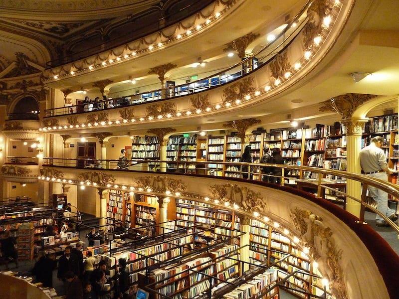 El Ateneo - livrarias de Buenos Aires