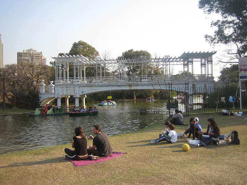 Rosedal em Buenos Aires