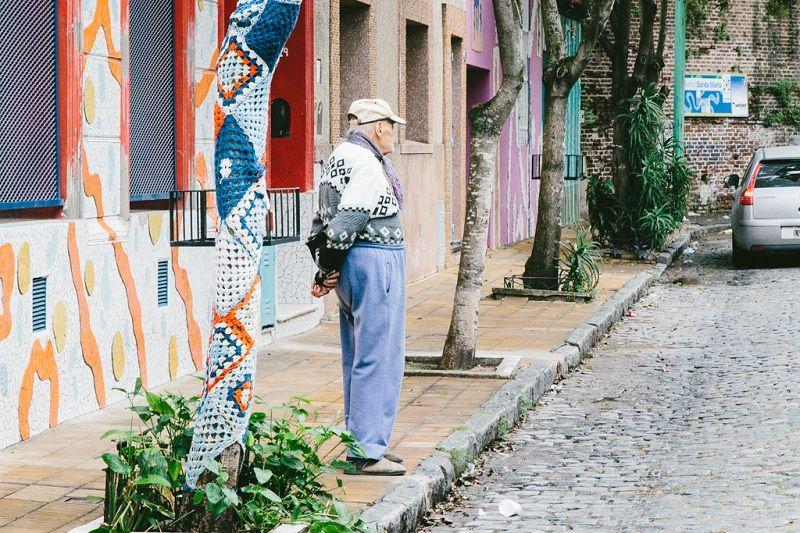 ruas de pedras em Buenos Aires