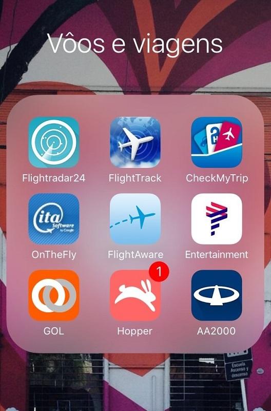 aplicativos de viagem