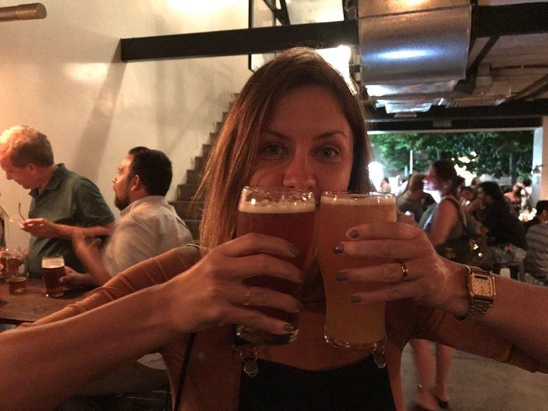 drafter's - cervejaria em recoleta
