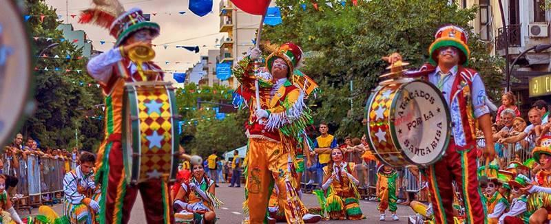 como é o carnaval de Buenos Aires