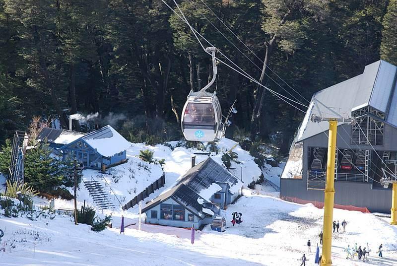 estação de esqui em villa angostura